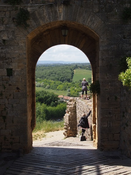 view in Monteriggioni