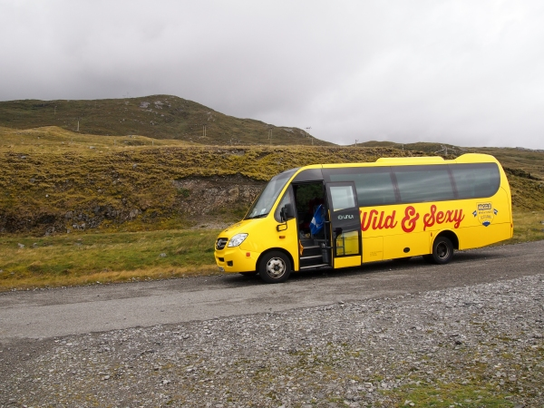 Haggis adventures bus